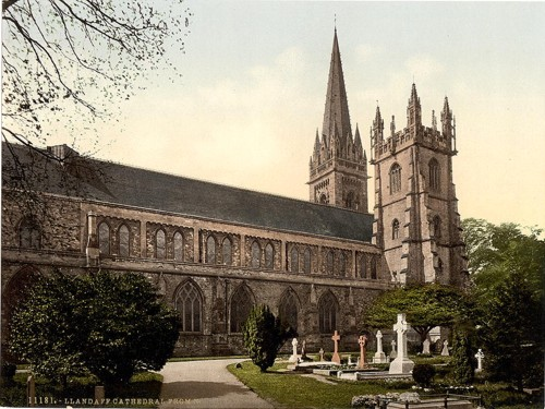 [Cathedral from the North, Llandoff (i.e.Llandaff), Wales]