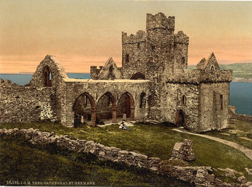 [Peel, St. Germains Cathedral, Isle of Man, England]