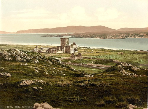 [Iona Cathedral, Iona and Staffa, Scotland]