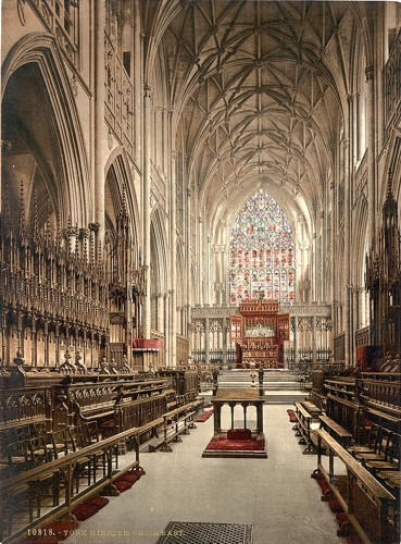 [Minster, choir east, York, England]