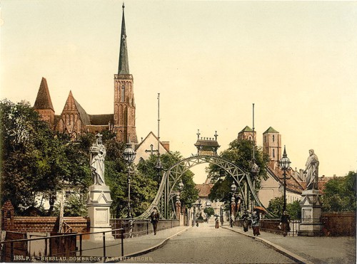 [Church Bridge, Breslau, Silesia, Germany (i.e., Wroclaw, Poland)]