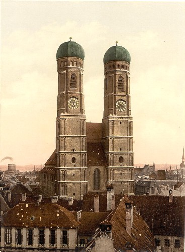 [Frauen Church (i.e. Frauenkirche), Munich, Bavaria, Germany]