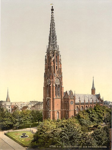 [Church, Bremerhafen, Hanover (i.e. Hannover), Germany]