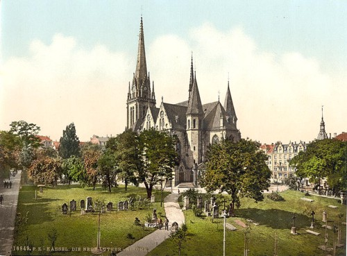 [The New Luther Church, Cassel (i.e., Kassel), Hesse-Nassau, Germany]