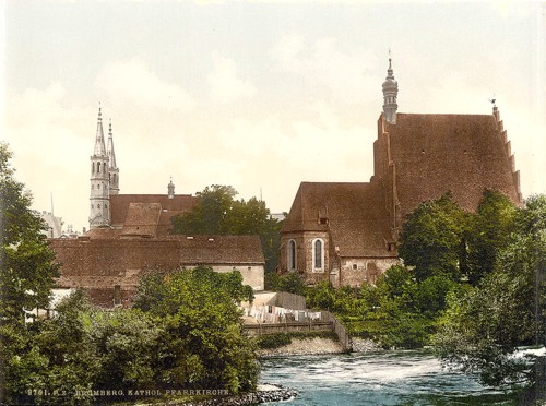 [Pfarr Church, Bromberg, Silesia, Germany (i.e., Bydgoszcz, Poland)]