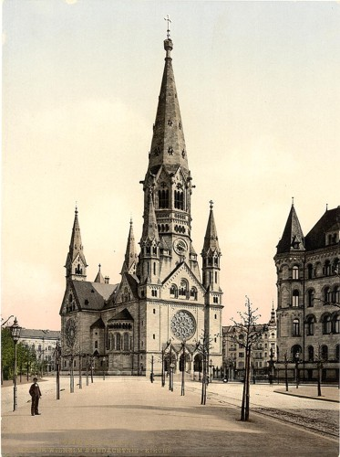 [Emperor Wilhelm's Memorial Church, Berlin, Germany]