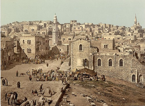 [Market Place, Bethlehem, Holy Land, (i.e., West Bank)]