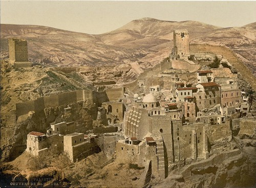 [The convent, Mar-Saba, Holy Land, (i.e., West Bank)]