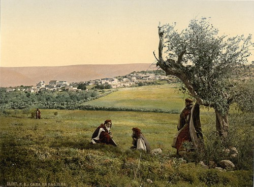 [General view, Cana of Galilee, Holy Land]
