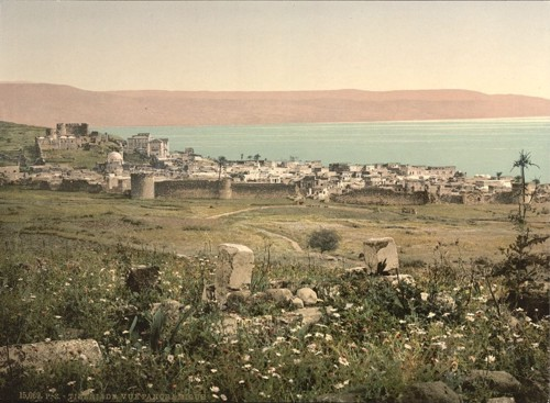 [Panoramic view, Tiberias, Holy Land, (i.e., Israel)]