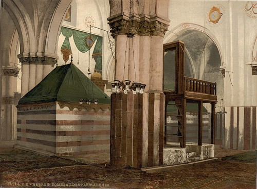 [Tombs of the patriarchs, Hebron, Holy Land, (i.e., West Bank)]