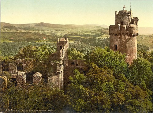 [The castle, Auerbach, Hartz, Germany]
