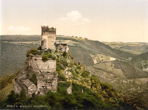 [The Ehrenburg, Moselle, valley of, Germany]