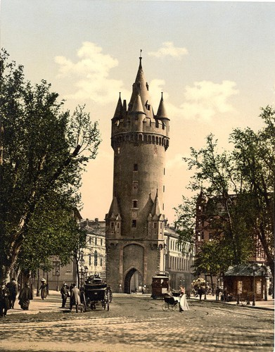 [Eschenheimer Gate, Frankfort on Main (i.e. Frankfurt am Main), Germany]