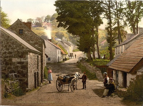 [Glencoe Village. Co. Antrim, Ireland]