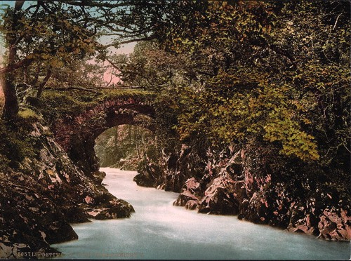 [Roman bridge II, Bettws-y-Coed, Wales]