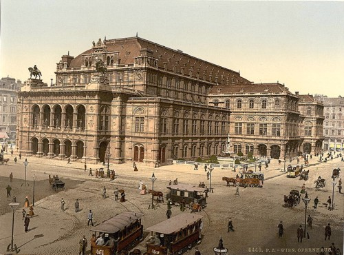 [The Opera House, Vienna, Austro-Hungary]