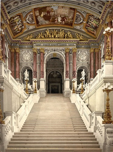 [The Opera House, interior, Vienna, Austro-Hungary]
