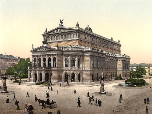 [Opera House, Frankfort on Main (i.e. Frankfurt am Main), Germany]
