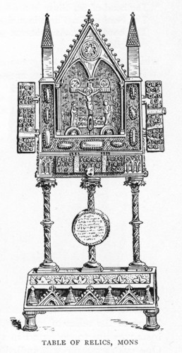 Table of relics